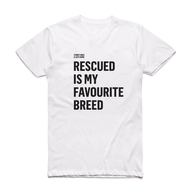 Sydney Dogs and Cats Home - Favourite Breed White Tee